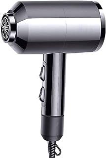 Secador de Pelo Equipo Secador Iónico ligero compacto Portátil Ruido bajo secador de pelo silencioso Sin dañar el cabello Secador de pelo iónico para el hogar, salón, embarazadas, niños