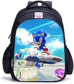 UNILIFE Mochilas Escolares 3D para Infantiles Mochilas Hedgehog Sonic S M L 3 Tamaños De Bolsas Escolares para Niños De 5 ...