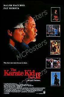 karate kid 2 poster
