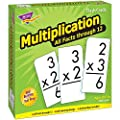 Trend Enterprises Multiplication 0-12 Flash Cards (All Facts) from Trend Enterprises
