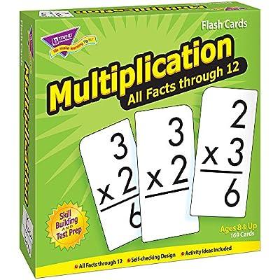 Trend Enterprises Multiplication 0-12 Flash Cards (All Facts) from Trend Enterprises