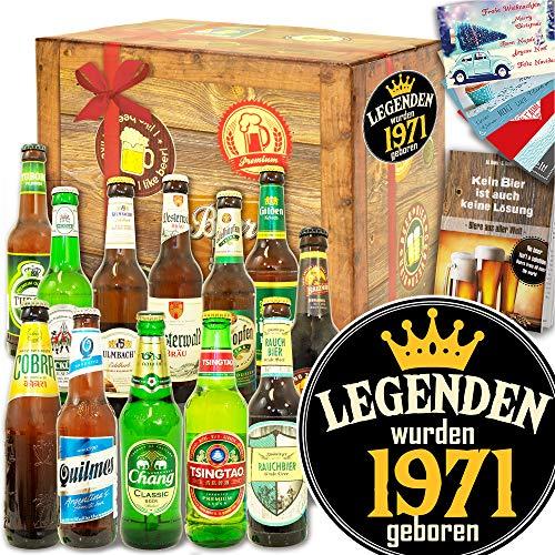 Legenden 1971 ++ Biergeschenk Welt und DE ++ Geschenkidee 1971