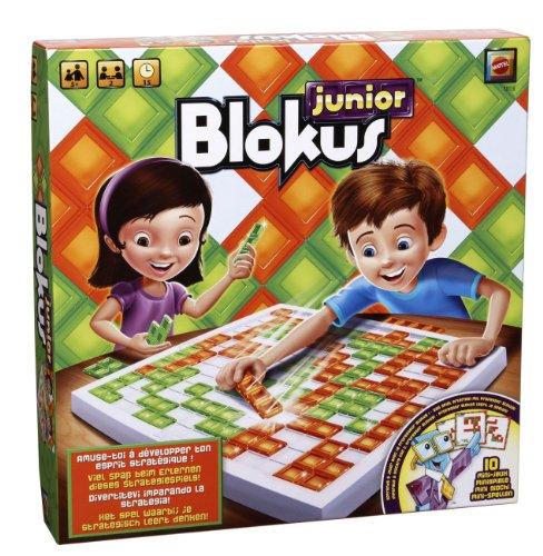 Mattel T8138 - Blokus Junior, Strategiespiel für Kinder