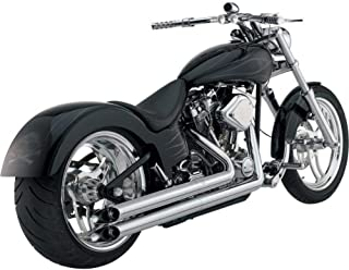 Vance and Hines Longshots HS Chrome Full System Exhaust for Harley Davidson 198 - One Size