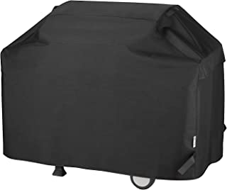 Unicook Heavy Duty Waterproof Barbecue Gas Grill Cover, 65-inch BBQ Cover, Special Fade..