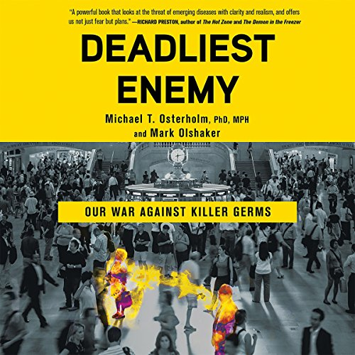 Deadliest Enemy audiobook cover art