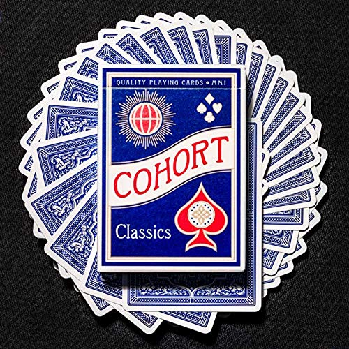SOLOMAGIA Cohorts Blue Playing Cards