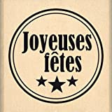 Florilèges Design FB213054 Tampon Scrapbooking Joyeuses Fêtes, Beige