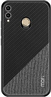 Huawei Honor 8X MOFI Honor Series Bi-color Splicing Woven Texture Case cover - Black.