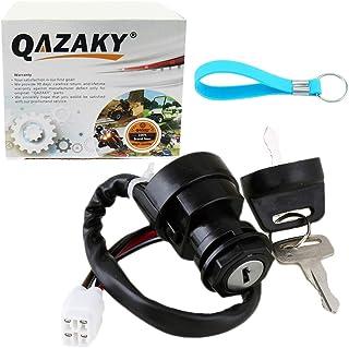 QAZAKY Llave De Contacto Interruptor para Yamaha Wolverine Grizzly Kodiak Yfz450 Yfm400 Yfm450 Yfm45F Yfm45 Yfz Yfm 400 450 2003-2014