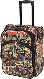 Marvel - Avengers Comic Print 18in Small 2 Wheel Soft Suitcase