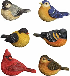 resin birds figurines