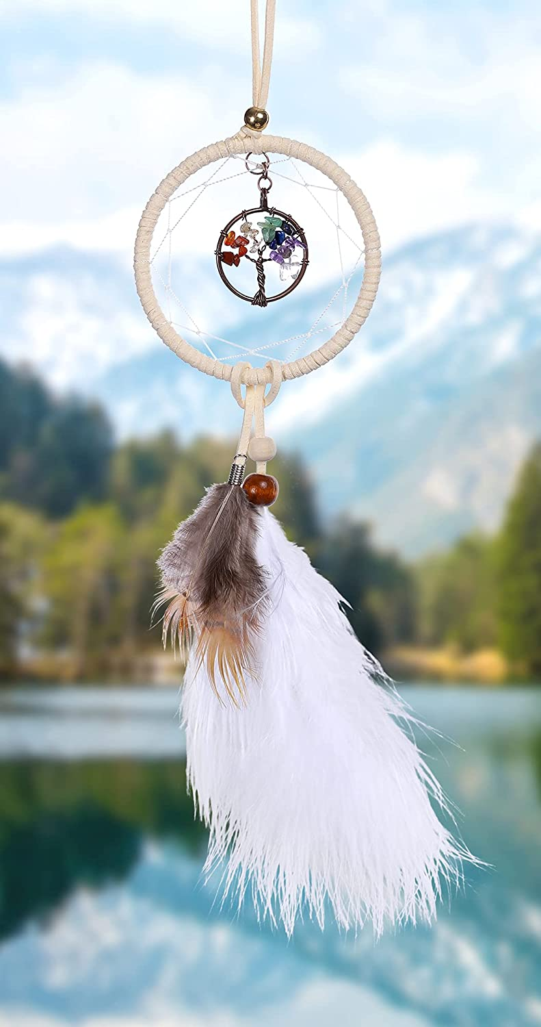 7 Chakra Stones Challenge the lowest price of Japan ☆ Reiki Healing Dream Mirror Ranking TOP2 Catcher Rear View Car