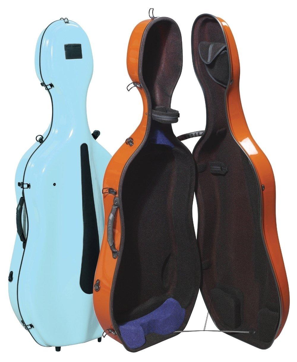 Gewa Estuche para Violonchelo, Idea Colores Pastel Evolution 4.9 - Azul claro/Antracita: Amazon.es: Instrumentos musicales