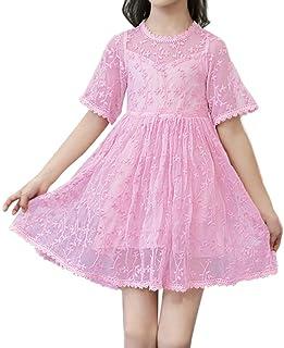 子供服 ドレス キッズ フォーマル ウエディングドレス 女の子 半袖 結婚式 ピアノ 発表会 卒園式 ワンピース 女の子 可愛いスタイル レーススカート女の子用 花柄 ドレス