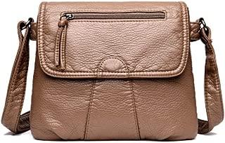 T.G LAYA Women Messenger Bag Soft PU Leather Crossbody Bag Female Handbag Purses Satchel Clutch Girl Shoulder Bag