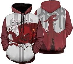 Dragon Age Game Hoodies 3D Print Long Sleeves Pullover Hooded Sweatshirts for Men Boys