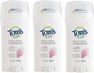 Sponsored Ad - Tom's of Maine Natural Strength Deodorant, Deodorant for Women, Natural Deodorant, Fresh Powder, 2.1 Ounce,...