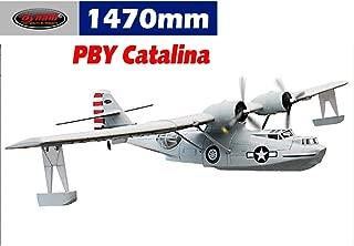 DYNAM RC Airplane PBY Catalina Grey 1470mm Wingspan - PNP