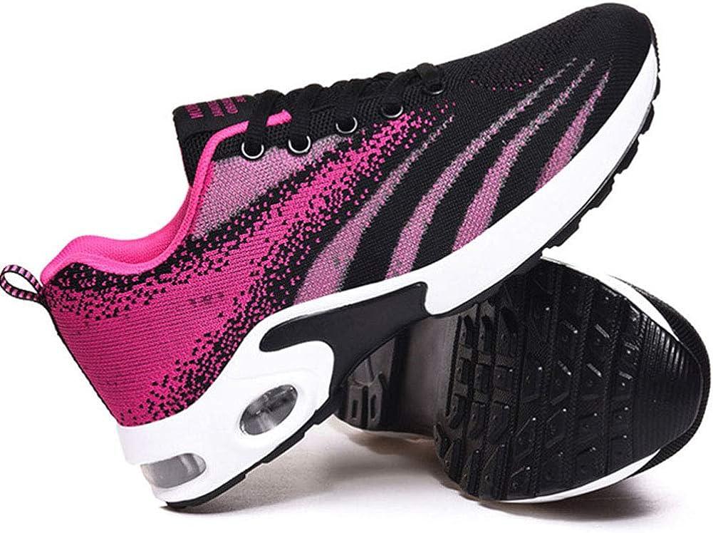 Vimisaoi Women's Fashion Sneakers, Comfortable Platform Wedge Athletic Tennis Running Trainer Air Walking Shoes
