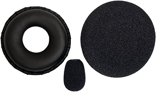 discount BlueParrott 202182 Replacement Ear/Mic Cushion Kit, 3 Pcs. for B250 Series new arrival lowest Headsets online