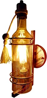 Improvhome Antique Look Bottle Shaped Glass Wall Lamp/Wall Light/Decorative Lamp (AZ-Wall Lamp-111)
