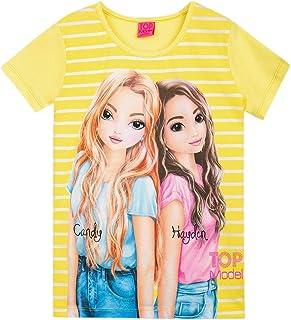 Top Model Niña T-Shirt, Camiseta, Amarillo