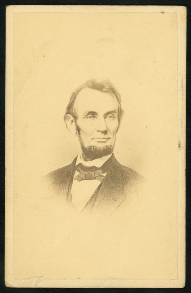 Historic Photos NEW before selling ☆ National uniform free shipping 1864 Photo Abraham Uni President Lincoln of The