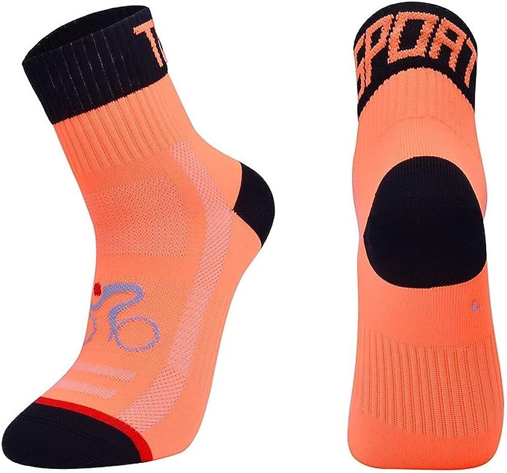 WLKY Calcetines deportivos de ciclismo, para correr, unisex, transpirables, para ciclismo, correr, senderismo, baloncesto, etc.