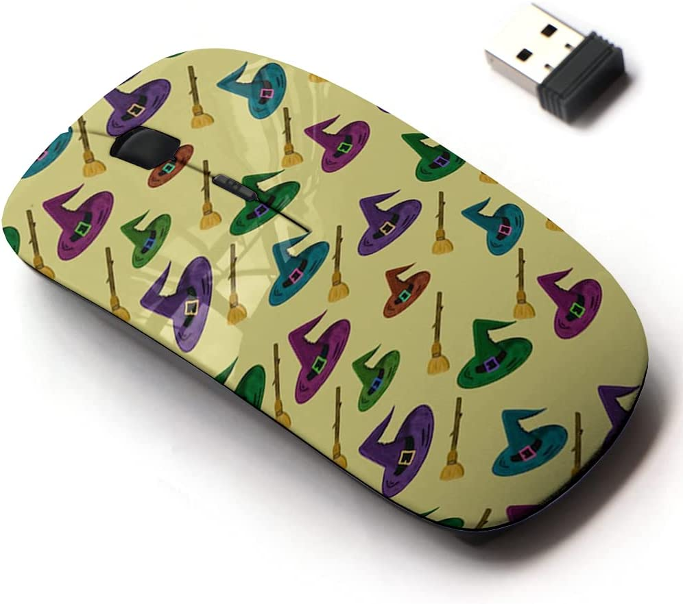 2.4G Wireless Mouse with Cute Fort Worth Mall Pattern gift Design Laptops and for All