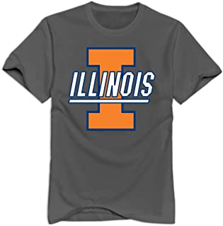 UIUC Logo Man Funny T-Shirts