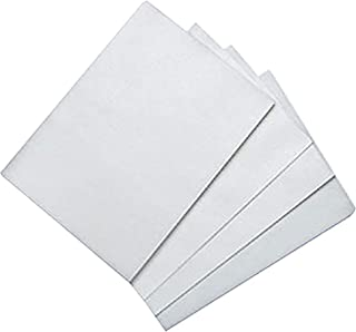 Edible Rice and Wafer Paper, 8 by 11-Inch/Wafer Paper (100, White)