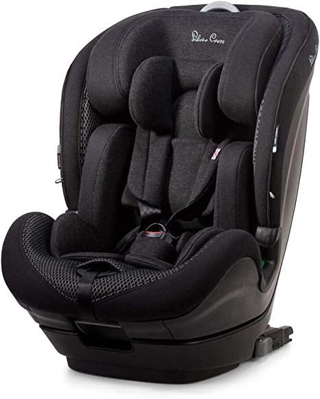 Silver Cross Balance i-Size Car Seat, Multi Stage Child Seat for Baby/Toddler/Child from 15 months to 12 Years (76-150cm),Multi-Position Reclining ISOFIX Car Seat: image