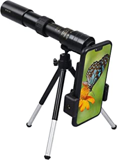 Xgood Monocular Telescope 4K 10-300X40 MM Telescope Zoom High Definition Monocular Telescope Perfect with Tripod for Hikin...