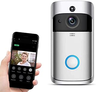 Mopoq Wireless Remote Control With Real-time Two-way Monitoring System (Color : Silver)
