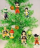 Ornaments Japanese Anime Manga Themed Christmas Decorations Set of 6