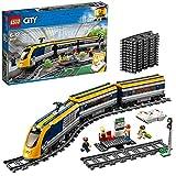 LEGO 60197 City Trains Tren de pasajeros, Set de Construcción con Motor a Control Remoto por Bluetooth con Mini Figuras