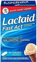 Johnson & Johnson Lactaid Fast Action Caplets, 60 caplets (Pack of 1)