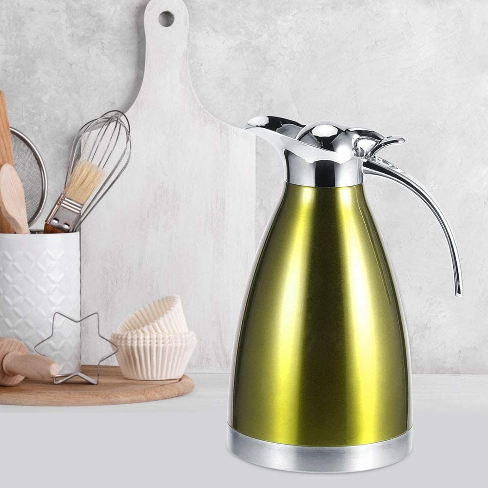 YYQTGG Double Coffee Pot Drink Water Genuine Free Shipping Insulation Flasks Now free shipping Vacuum K