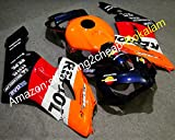 Kit de carenado multicolor para 04 05 CBR1000RR 2004 2005 CBR 1000 RR 1000RR CBR1000 (moldeo por inyección)