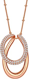minimalist atmosphere micro-inlaid AAA zircon necklace Fashion exaggerated ladies short necklace