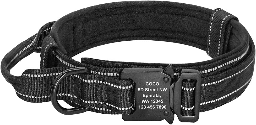 JIAF store Personalized Military Tactical Custom Cash special price Dog Nylon Collar