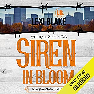 Siren in Bloom                   Written by:                                                                                                                                 Lexi Blake writing as Sophie Oak                               Narrated by:                                                                                                                                 CJ Bloom,                                                                                        Ryan West                      Length: 12 hrs and 3 mins     Not rated yet     Overall 0.0