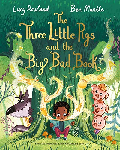 The Three Little Pigs and the Big Bad Book (English Edition)