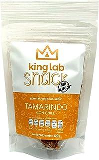 King Lab Snack gomitas veganas sin azúcar sabor tamarindo con chile