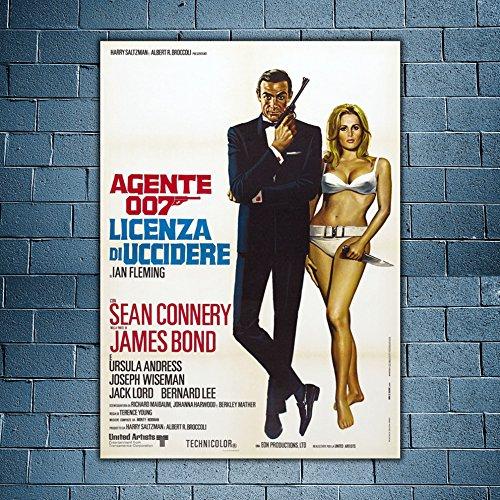 Poster Cinema 007 Licenza Di Uccidere - Sean Connery - 70X100 CM