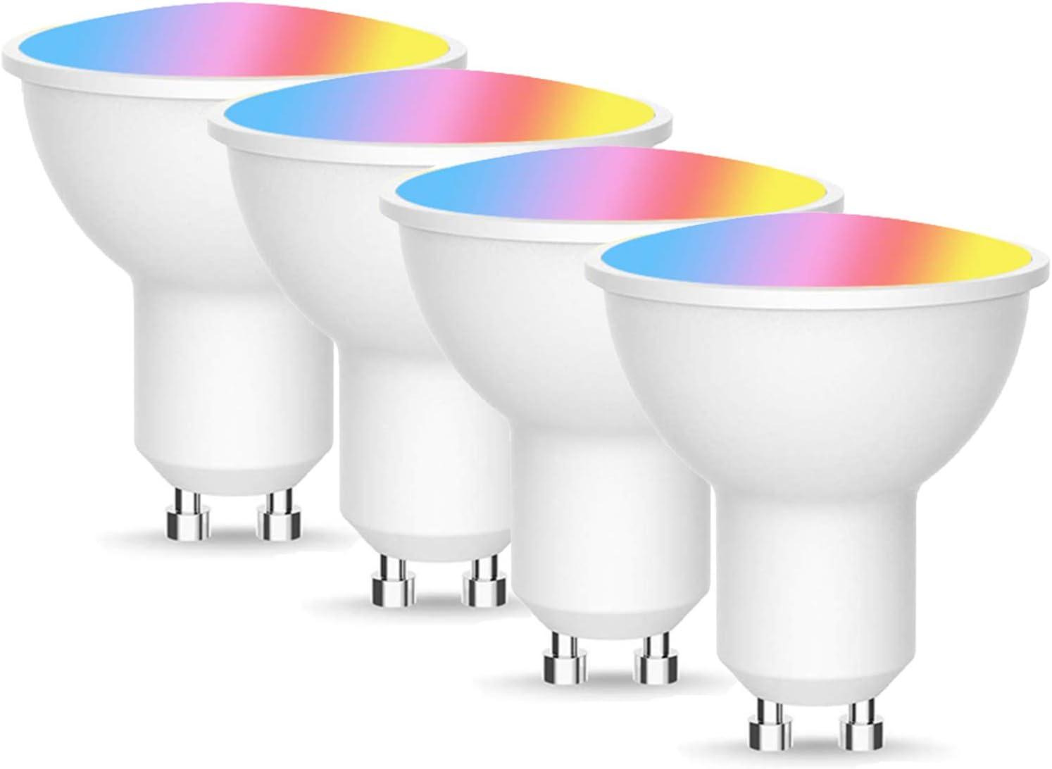 HUABIN WiFi Smart Bulbs GU10 White Dimmable Warm List price Baltimore Mall LED RGB