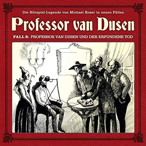 Professor van Dusen und der erfundene Tod Titelbild