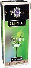 Stash Premium Green Tea, 20 Tea Bags Per Box