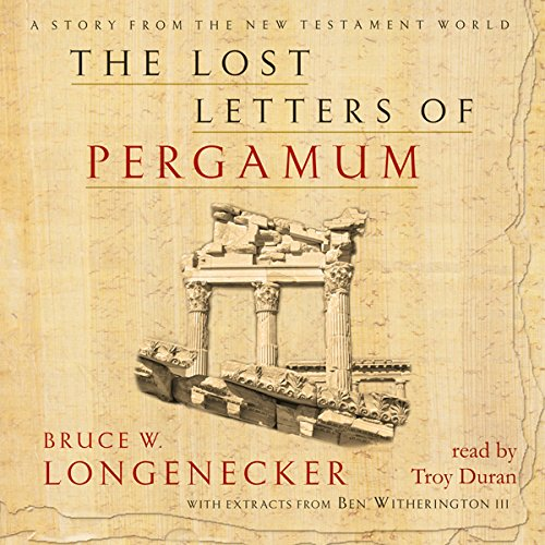 The Lost Letters of Pergamum audiobook cover art